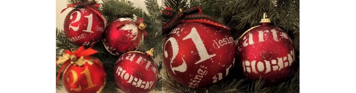 Τρεις απλοί τρόποι για να στολίσουμε τις Χριστουγεννιατικες Μπάλες!