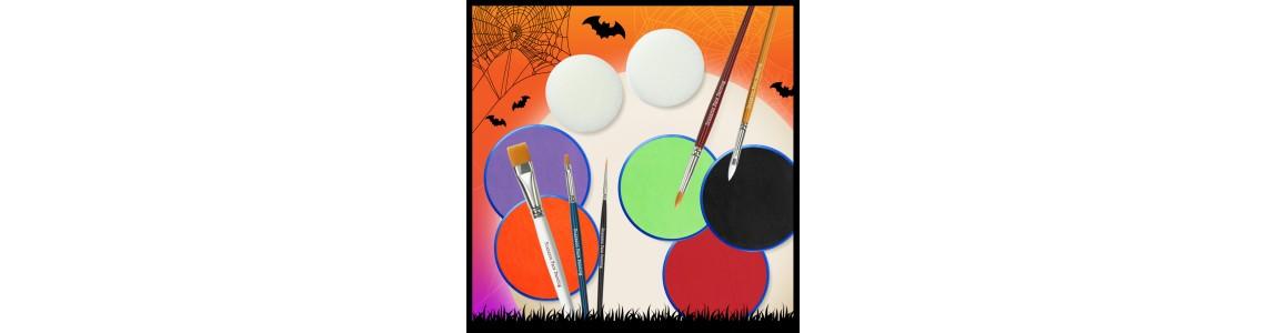 Snazaroo Halloween Tutorials