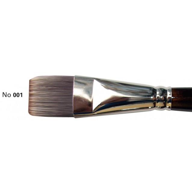 Πινέλο Συνθετικό Πλακέ Ακουαρέλας 7103 1