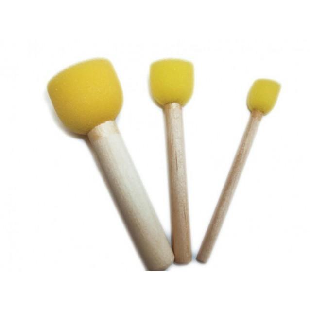 3 Σταμπαδόροι Σφουγγαράκια για Στένσιλ Φ 13-20-30mm