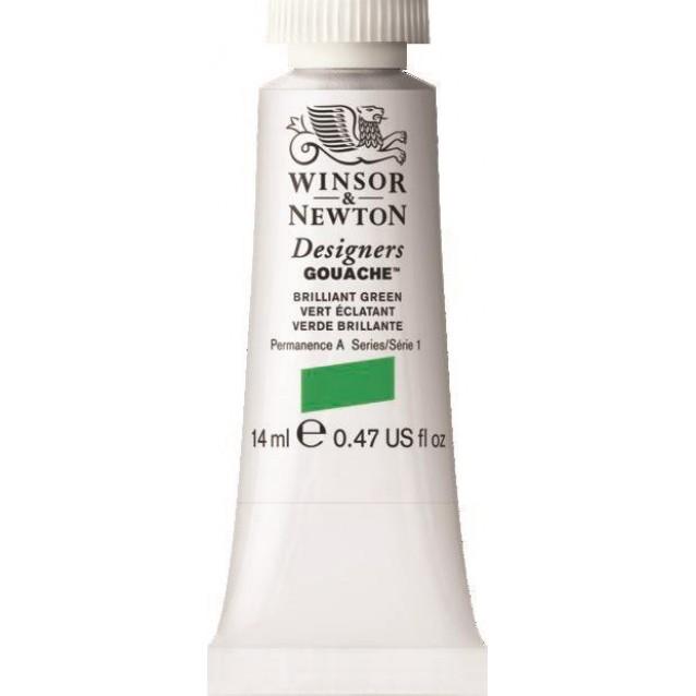 Winsor & Newton 14ml Τέμπερα Designers Brilliant Green Serie 1