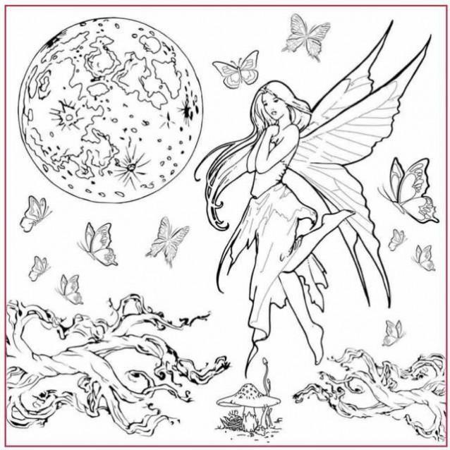 Stamperia Silhouette Art Napkin – Fairy