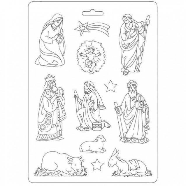 Stamperia Φόρμα Πηλού Α4 Bethlehem