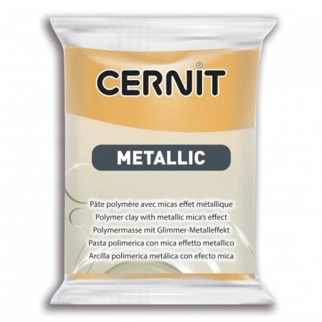 Cernit 56 gr Metallic No. 050 Χρυσό