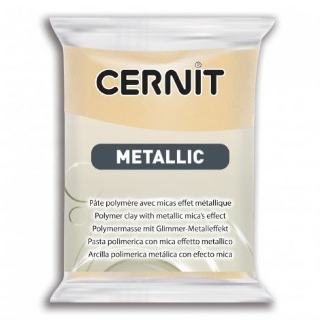 Cernit 56 gr Metallic No. 045 Σαμπανί