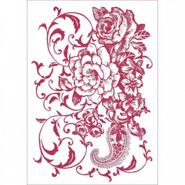Stamperia Stencil G 21x29,7cm Ramage Floreale