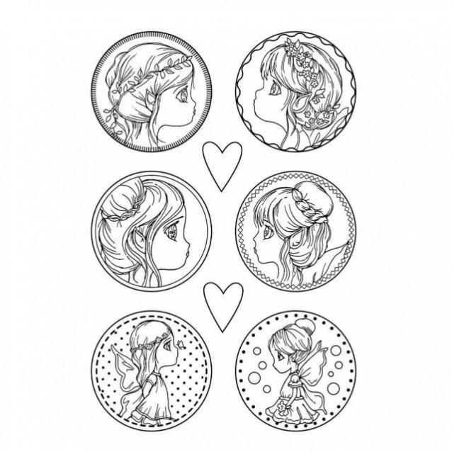 Stamperia Φόρμα Πηλού Α4 Fairies