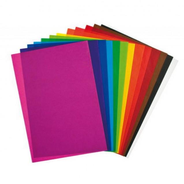 Next Μπλοκ Γλασέ Ιllustration 20 Φύλλα Α4 (21x29.7 cm) 90gr / Διάφορα Χρώματα