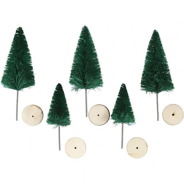 5 Κωνοφόρα Δέντρα 4 & 6cm