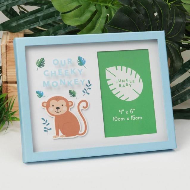 Jungle Baby Κονρίζα Μαϊμουδάκι 10X15cm