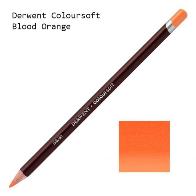 Derwent Μολύβι Coloursoft C090 Blood Orange