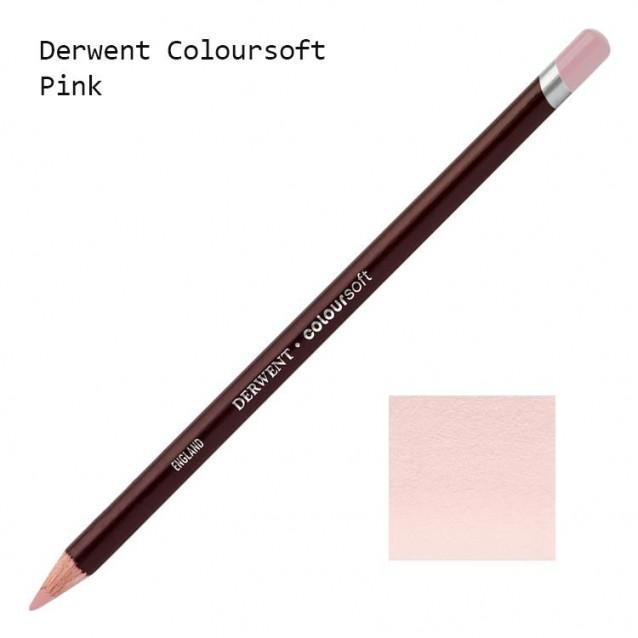 Derwent Μολύβι Coloursoft C190 Pink