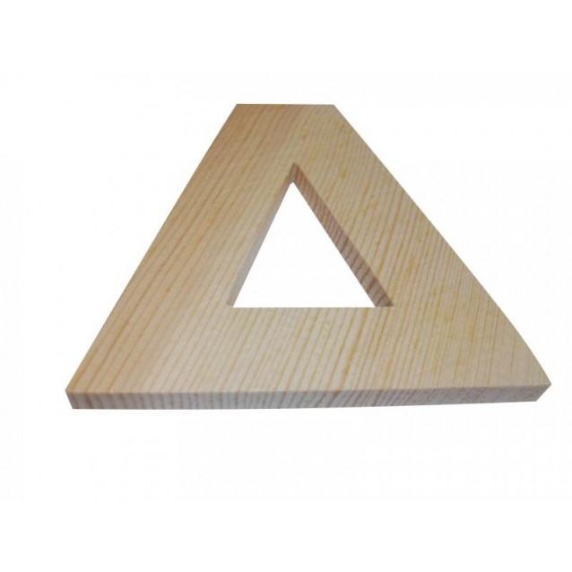 Ξύλινo Γράμμα 10cm - Δ