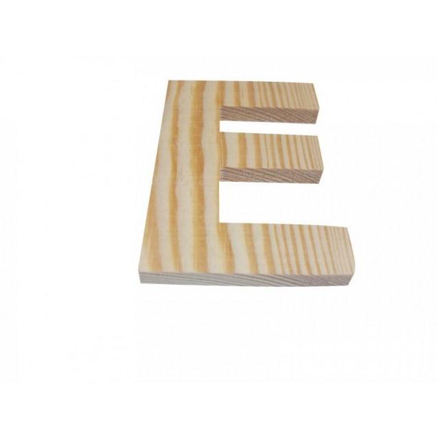 Ξύλινo Γράμμα 10cm - Ε