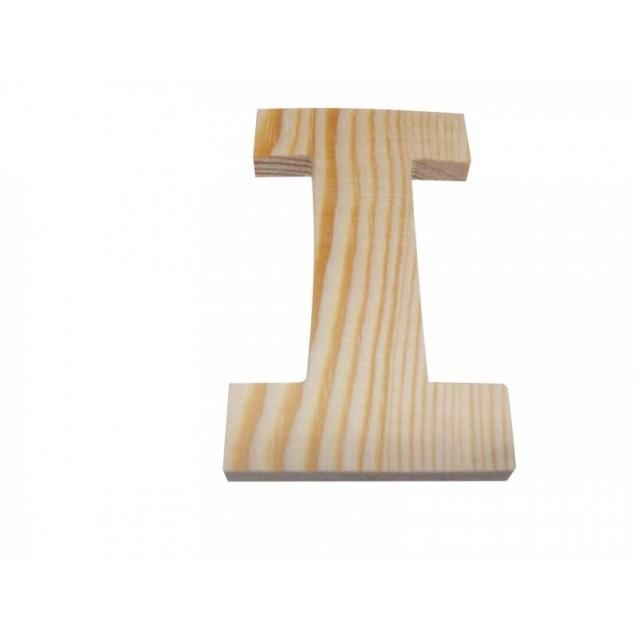 Ξύλινo Γράμμα 10cm - Ι