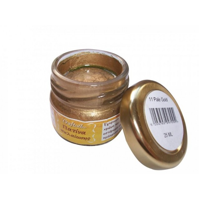Craftistico 25ml Κηροπατίνα Pale Gold