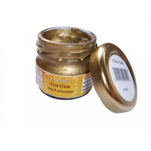 Craftistico 25ml Κηροπατίνα Rich Gold