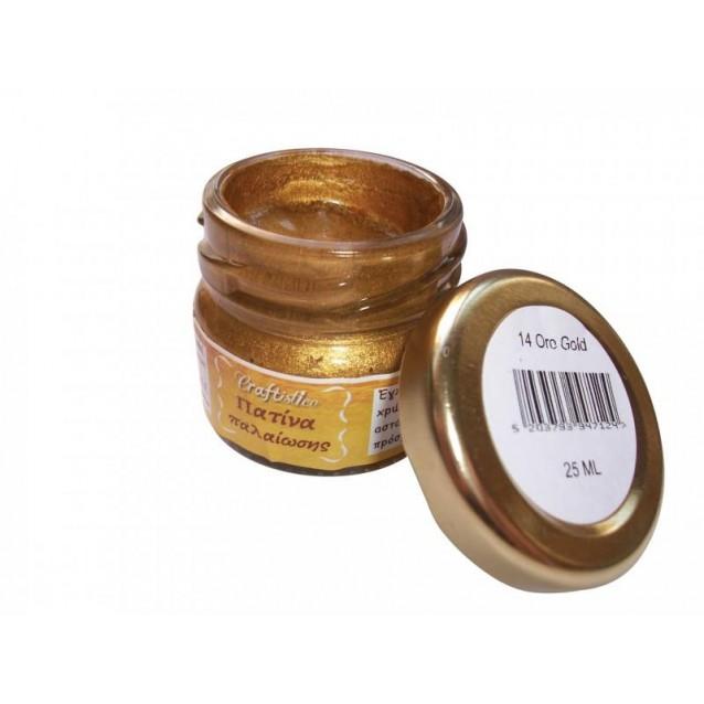 Craftistico 25 ml Κηροπατίνα Oro Gold