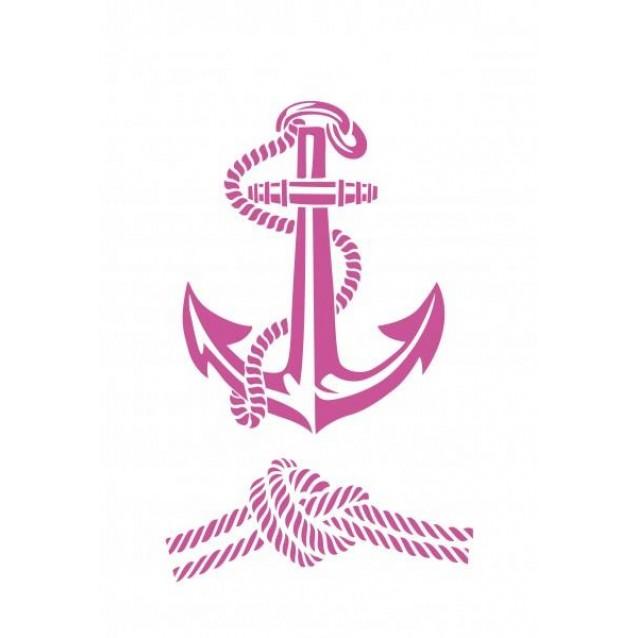 Craftistico Stencil 20X30 cm Άγκυρα/Ναυτικός Κόμπος