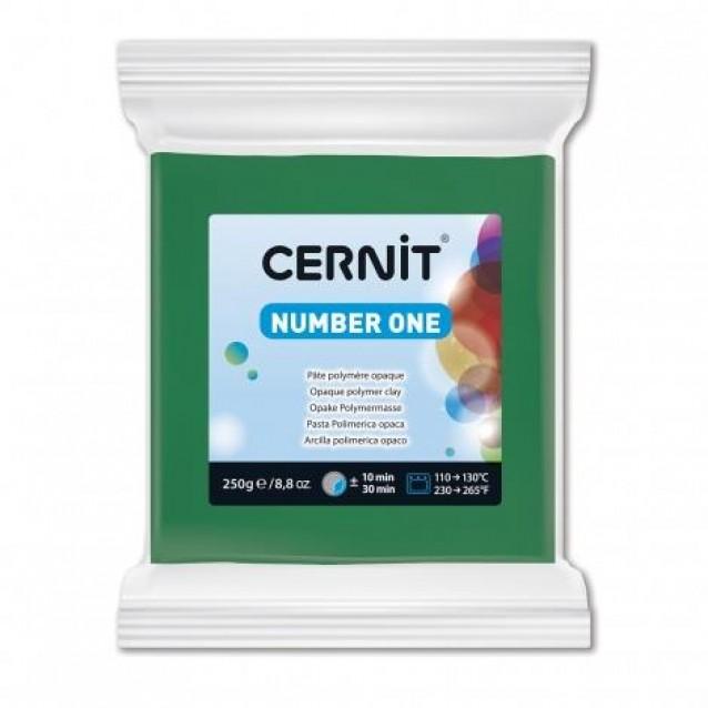 Cernit 250gr Number One No.600 Πράσινο