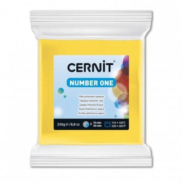Cernit 250gr Number One No.700 Κίτρινο