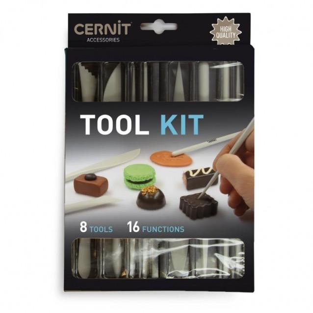 Σετ 8 Εργαλεία & Γλυφίδες  Cernit