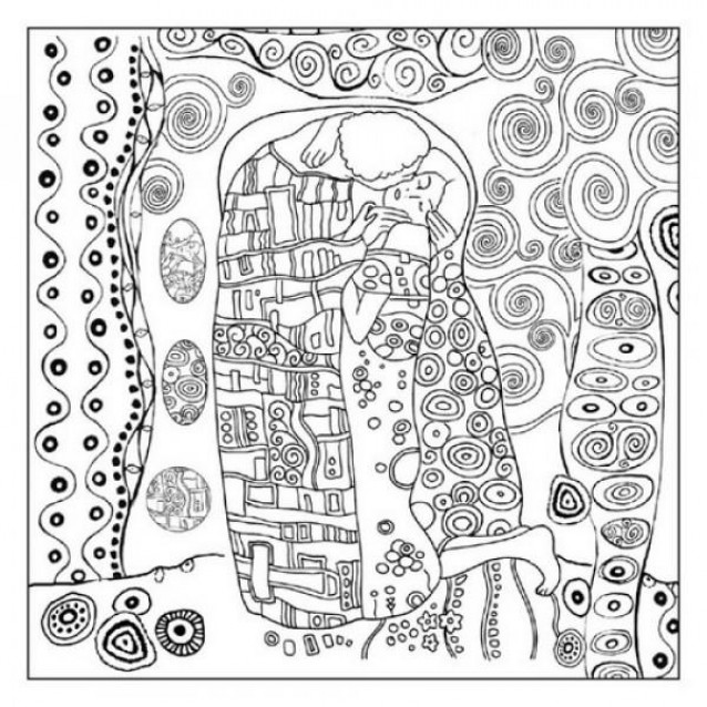 Stamperia Silhouette Art Napkin - Klimt