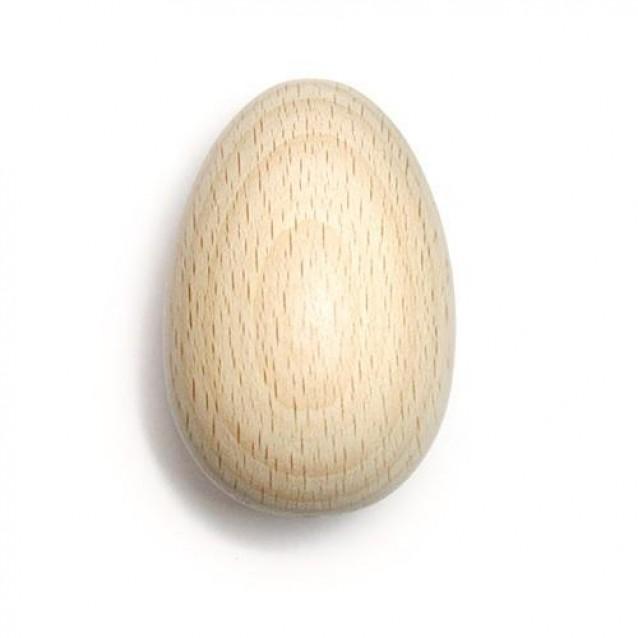 Ξύλινο Αυγό 6 cm