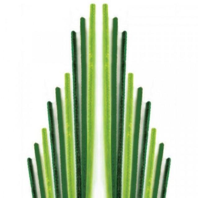 Glorex 10 Σύρματα Πίπας 50cm Πράσινο
