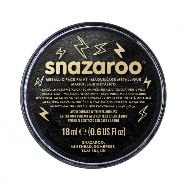 Snazaroo 18ml Κρέμα Face Painting Electric Black