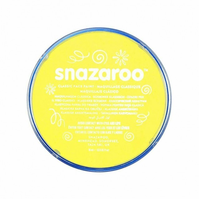 Snazaroo 18ml Κρέμα Face Painting Classic Pale Yellow
