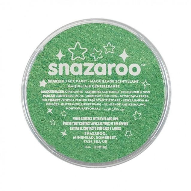 Snazaroo 18ml Κρέμα Face Painting Sparkle Pale Green