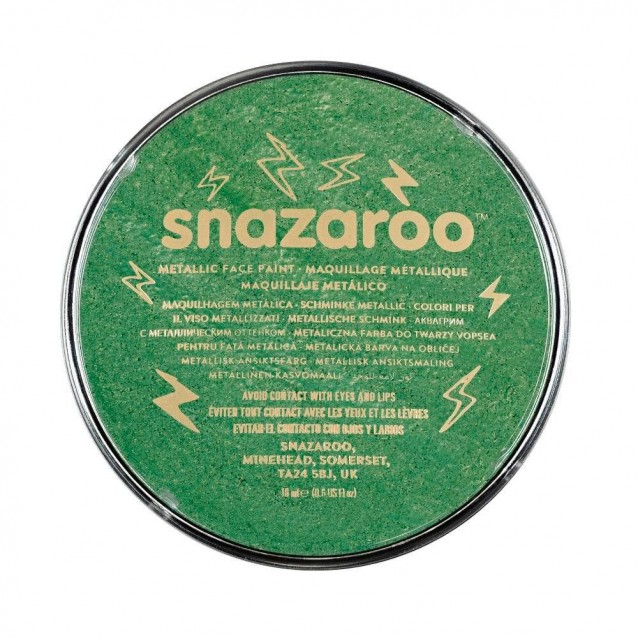 Snazaroo 18ml Κρέμα Face Painting Electric Green