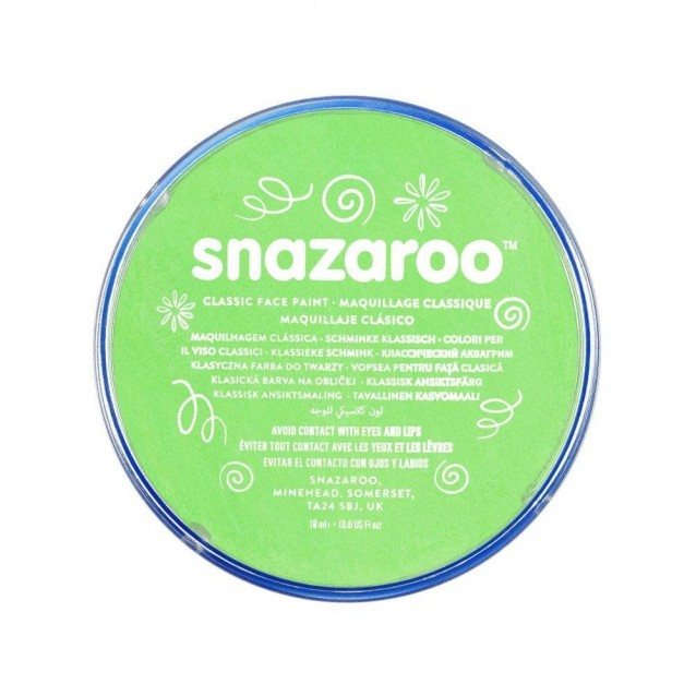 Snazaroo 18ml Κρέμα Face Painting Classic Lime Green