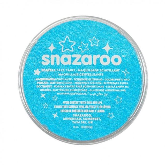 Snazaroo 18ml Κρέμα Face Painting Sparkle Turquoise