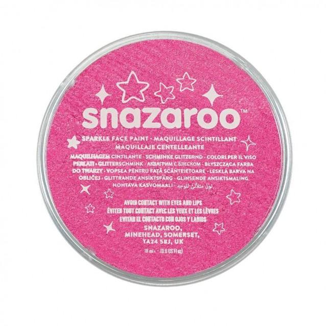 Snazaroo 18ml Κρέμα Face Painting Sparkle Pink