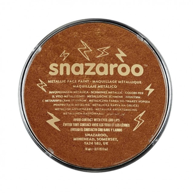 Snazaroo 18ml Κρέμα Face Painting Metallic Copper