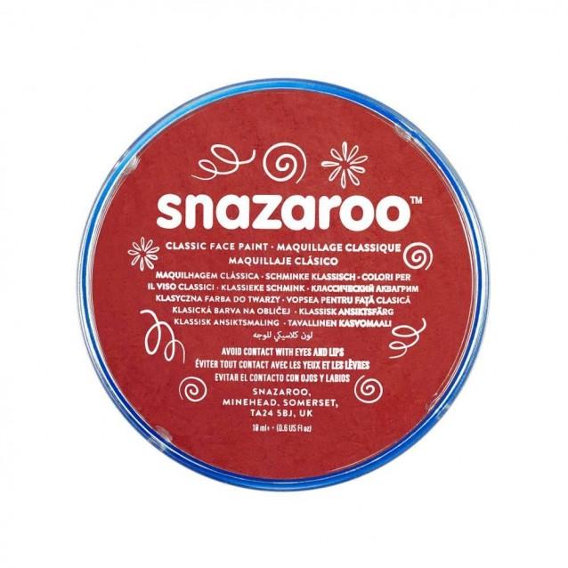 Snazaroo 18ml Κρέμα Face Painting Classic Burgundy