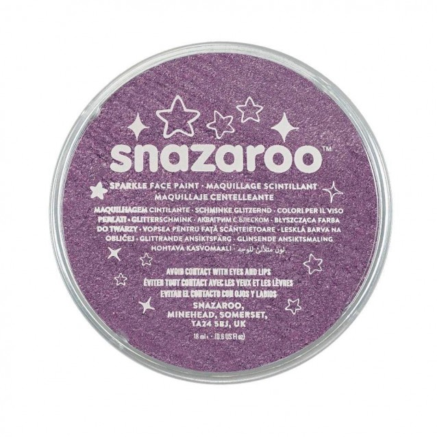 Snazaroo 18ml Κρέμα Face Painting Sparkle Lilac