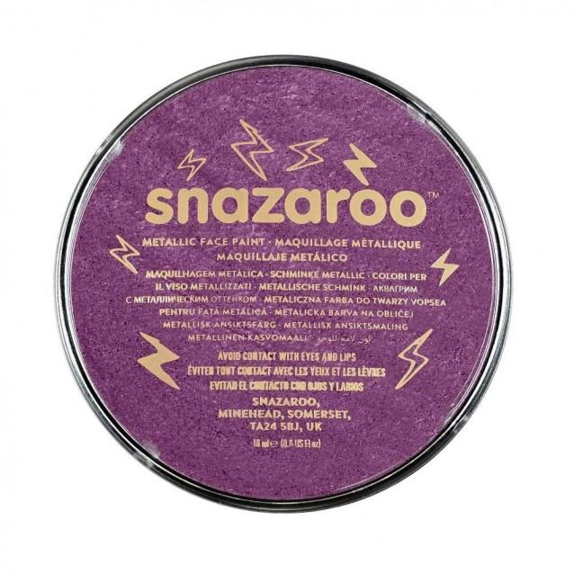 Snazaroo 18ml Κρέμα Face Painting Electric Purple