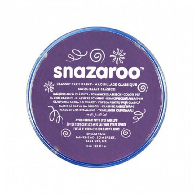 Snazaroo 18ml Κρέμα Face Painting Classic Violet