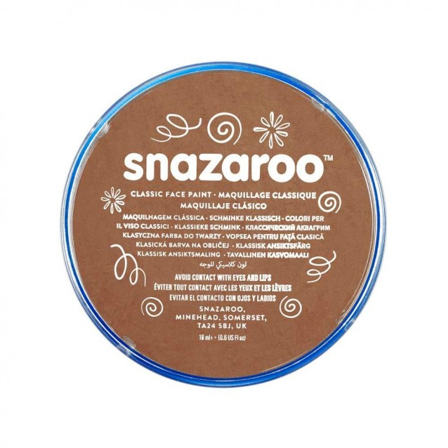 Snazaroo 18ml Κρέμα Face Painting Classic Beige Brown