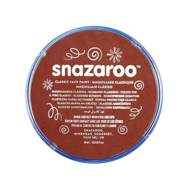 Snazaroo 18ml Κρέμα Face Painting Classic Rust Brown