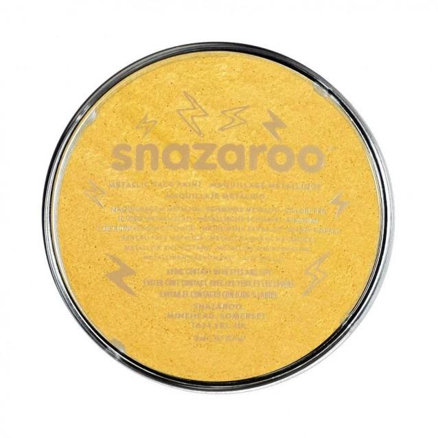 Snazaroo 18ml Κρέμα Face Painting Electric Gold