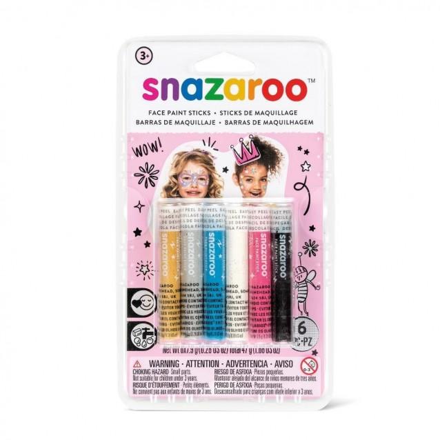 Snazaroo 6 Κραγιόνια Face Painting Girl