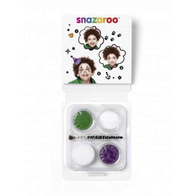 Snazaroo Mini Set Face Paint Κλόουν