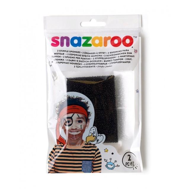 Snazaroo 2 Σαγρέ Σφουγγαράκια Face Painting