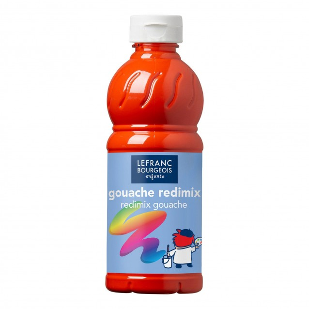 Lefranc & Bourgeois 500 ml Τέμπερα Redimix 398 Red Vermilion