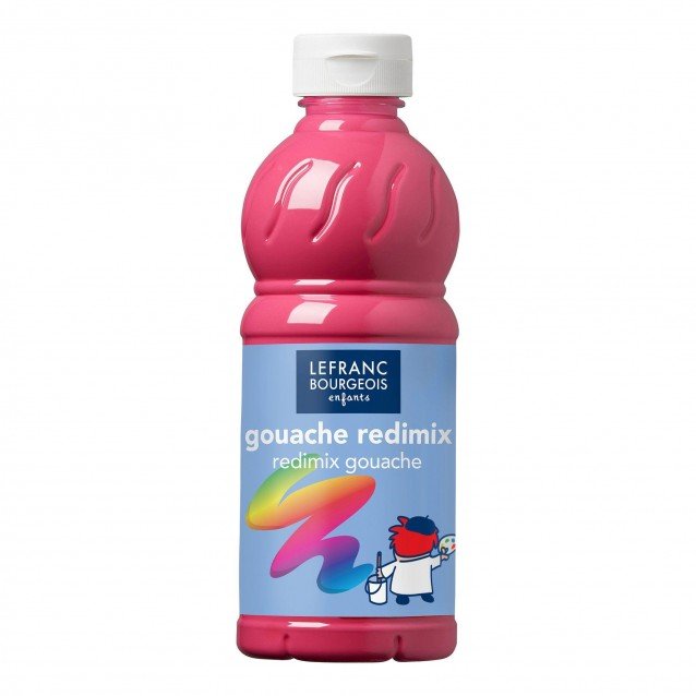 Lefranc & Bourgeois 500 ml Τέμπερα Redimix 354 Tyrien Rose