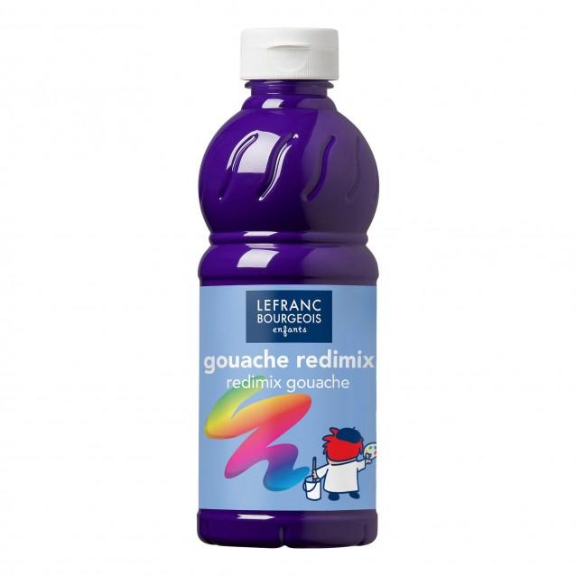 Lefranc & Bourgeois 500 ml Τέμπερα Redimix 601 Violet